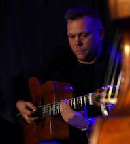 Siergiej Wowkotrub Gypsy Swing Quartet; Klub Five O'Clock; 1.02.2018 r.; Fot: Leszek Pilichowski
