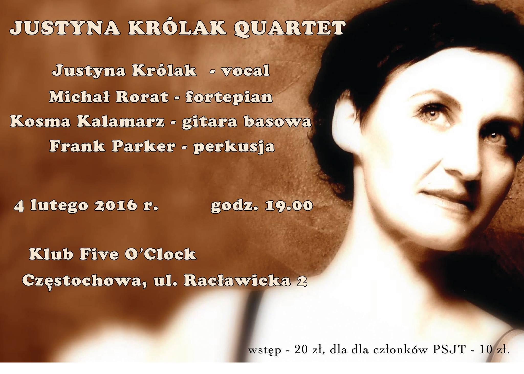 Justyna Królak Quartet