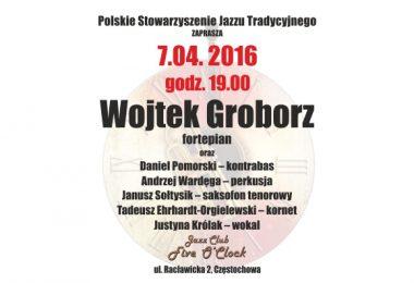 Koncert Wojtka Groborza