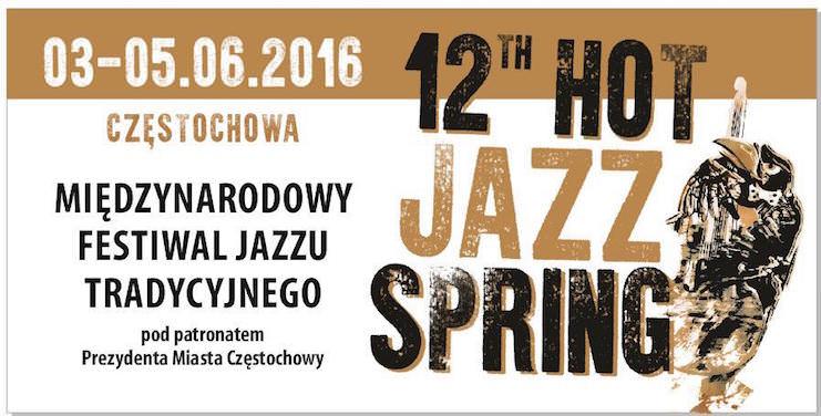 12 th Międzynarodowy Festiwal Jazzu Tradycyjnego Hot Jazz Spring