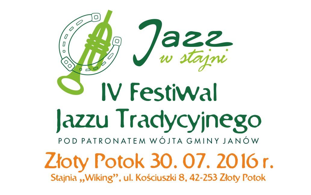 """IV Festiwal Jazzu Tradycyjnego """"Jazz w Stajni"""""""