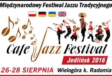 """I Międzynarodowy Festiwal Jazzu Tradycyjnego """"Cafe Jazz Festival"""""""
