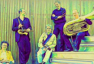 """""""Wisła Hot 4"""", czyli jazz tradycyjny w najlepszym wydaniu, w dniu 6 października 2016 r. w Klubie """"Five O' Clock"""""""