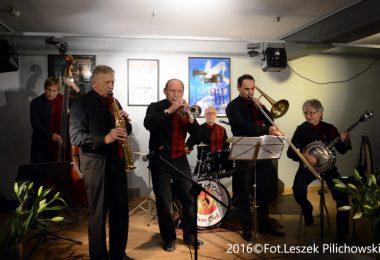 """Koncert Five O'Clock Orchestra – otwarcie nowej siedziby klubu """"Five O'Clock"""" – 3.11.2016 r."""