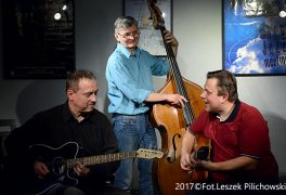 "Koncert Hot d'Jazz Trio w Klubie ""Five O' Clock"" – 12.01.2017 r."