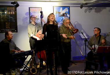 """Joanna Morea & Her Swinging Boys"" w Jazz Klubie ""Five O'Clock"" – 02.02.2017 r."