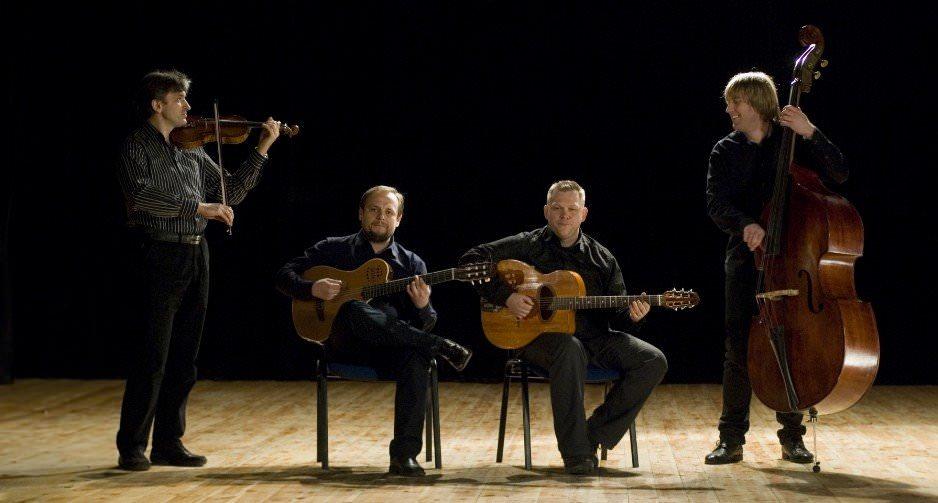 """Siergiej Wowkotrub Gypsy Swing Quartet Jazz Klubie """"Five O'Clock"""" – 4.05.2017, godz. 19.00"""