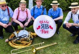 "RB Dixie Five w Jazz Klubie ""Five O'Clock"" – 11.10.2017 r., godz. 19:00"