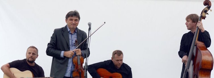 Siergiej Wowkotrub Gypsy Swing Quartet
