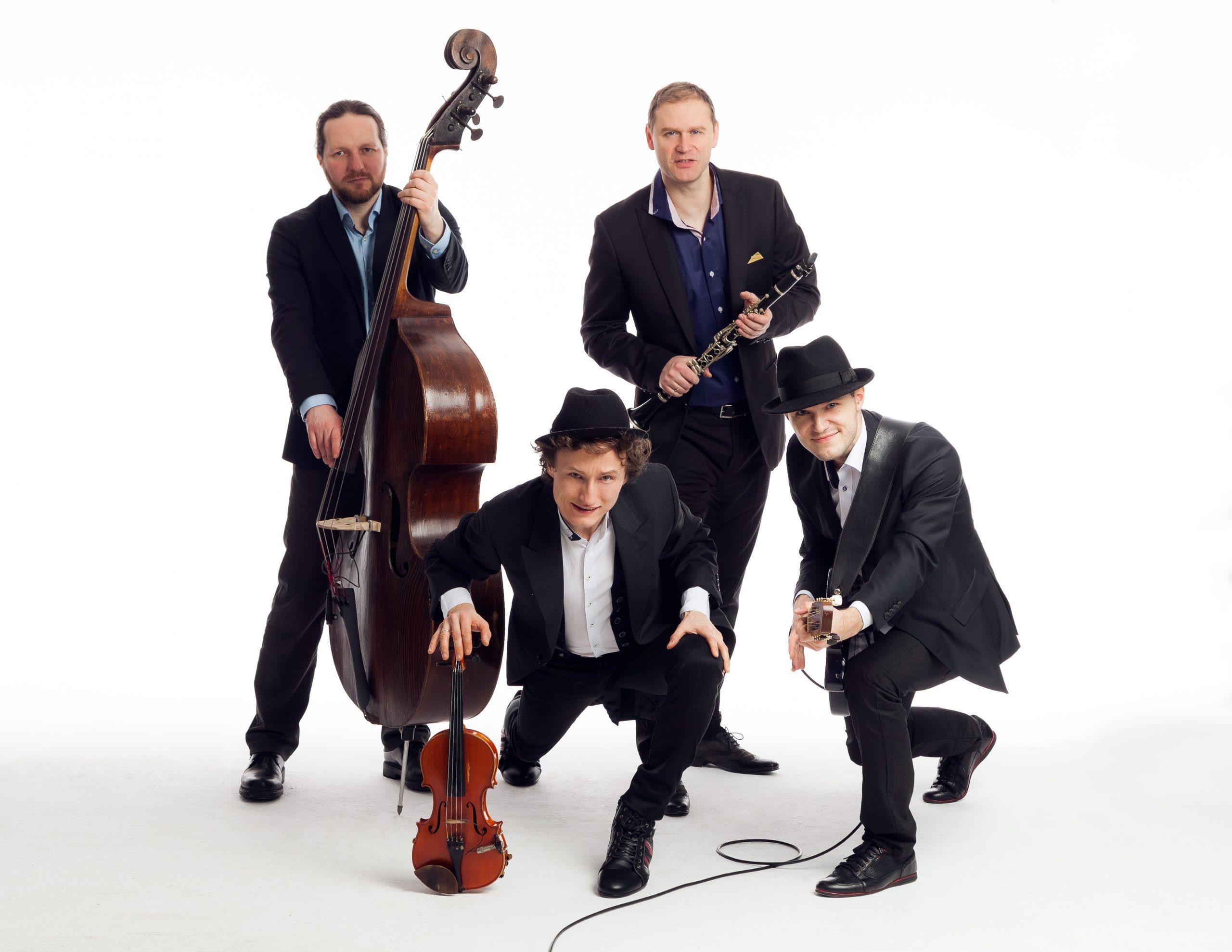 """Bartosz Smorągiewicz Gypsy Jazz Ensemble; Jazz Klub """"Five O'Clock""""; 5.04.2018r. , godz. 19:00"""