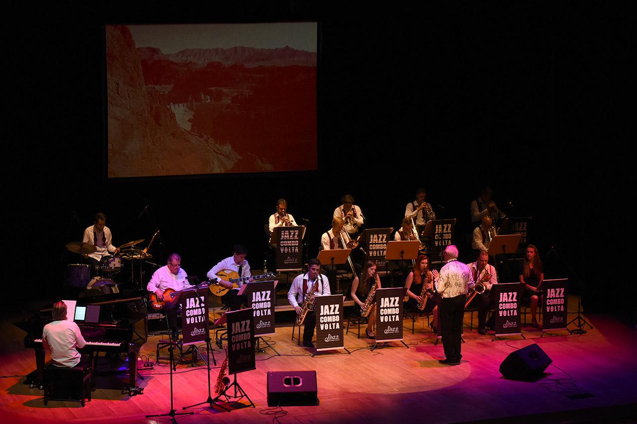 Big Band Jazz Combo Volta – 22.10.2018r.; Fot: Leszek Pilichowski