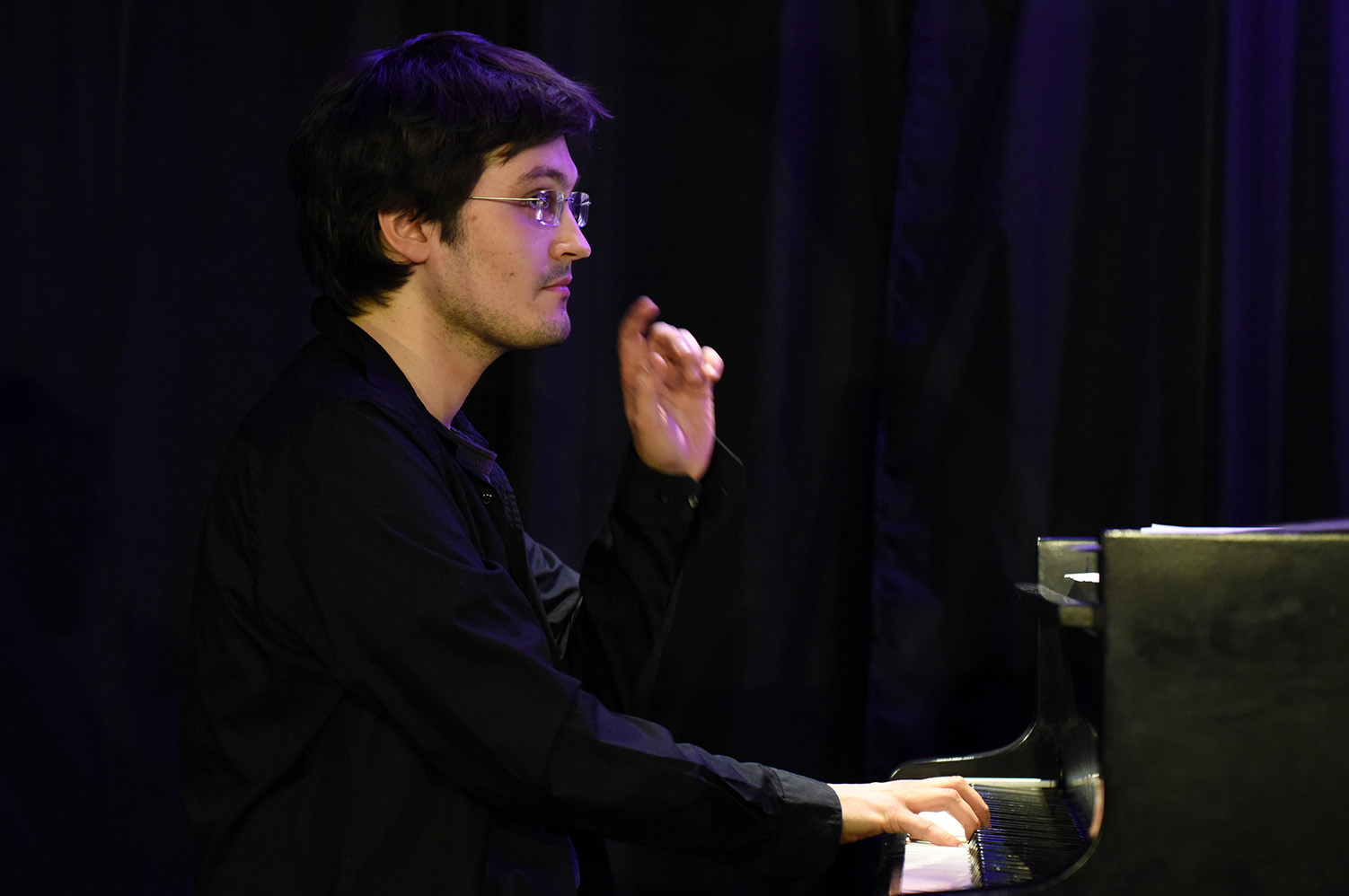 Kuba Płużek Trio -09.05.2019 r. , Fot: Leszek Pilichowski