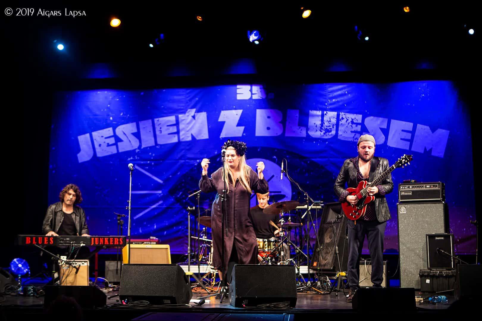 Blues Junkers w Jazz Club Five O`Clock 09.01.2020