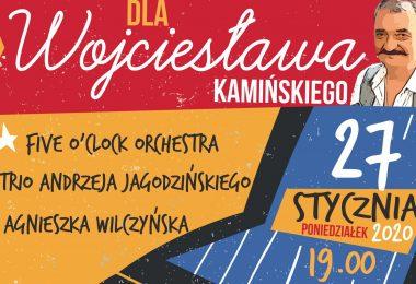 """Gramy dla Wojtka """"Wojciesława"""" Kamińskiego – Five O`Clock Orchestra, Andrzej Jagodziński Trio"""