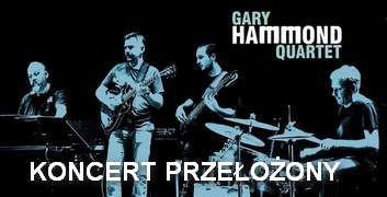 02.04.2020 GARY HAMMOND QUARTET  w Jazz Club Five O'Clock