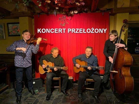 Koncert Siergiej Wowkotrub Gypsy Swing Quartet PRZEŁOŻONY